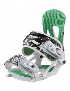 Fijaciones snowboard HEAD NX FAY ONE WHITE 342621